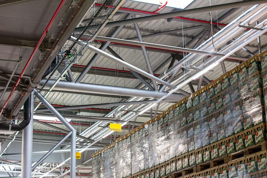 pilsner-urquell-indoor-ceiling-inspection-bottles