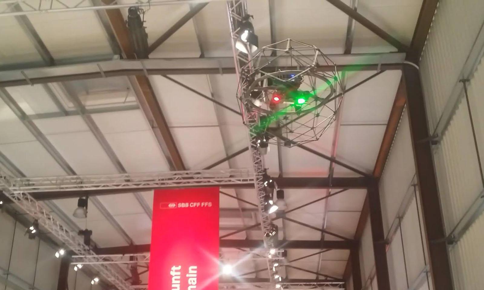 Flyability exhibits at Gottardo 2016!