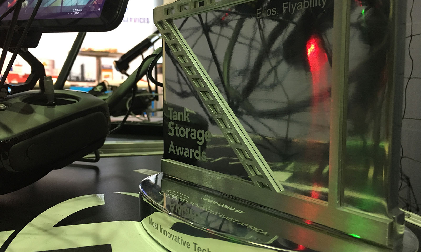 Flyability Awarded Most Innovative Technology by the Bulk Storage Industry