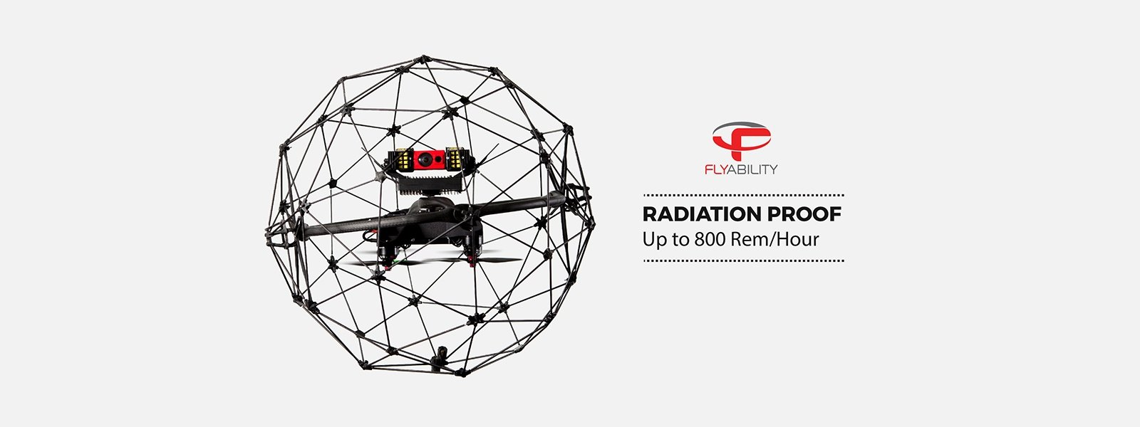 The Elios drone tested to 800 R/H of radiation to increase nuclear safety