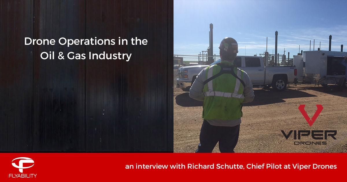 Drone Operations in the Oil & Gas Industry