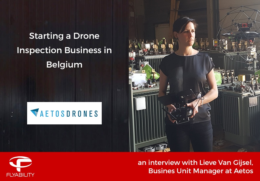 Starting a drone inspection business in Belgium with Lieve Van Gijsel