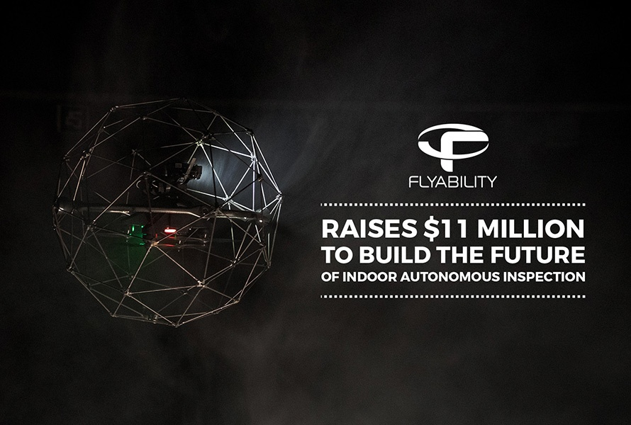 Flyability raises 11 million USD to build the future of indoor autonomous inspection