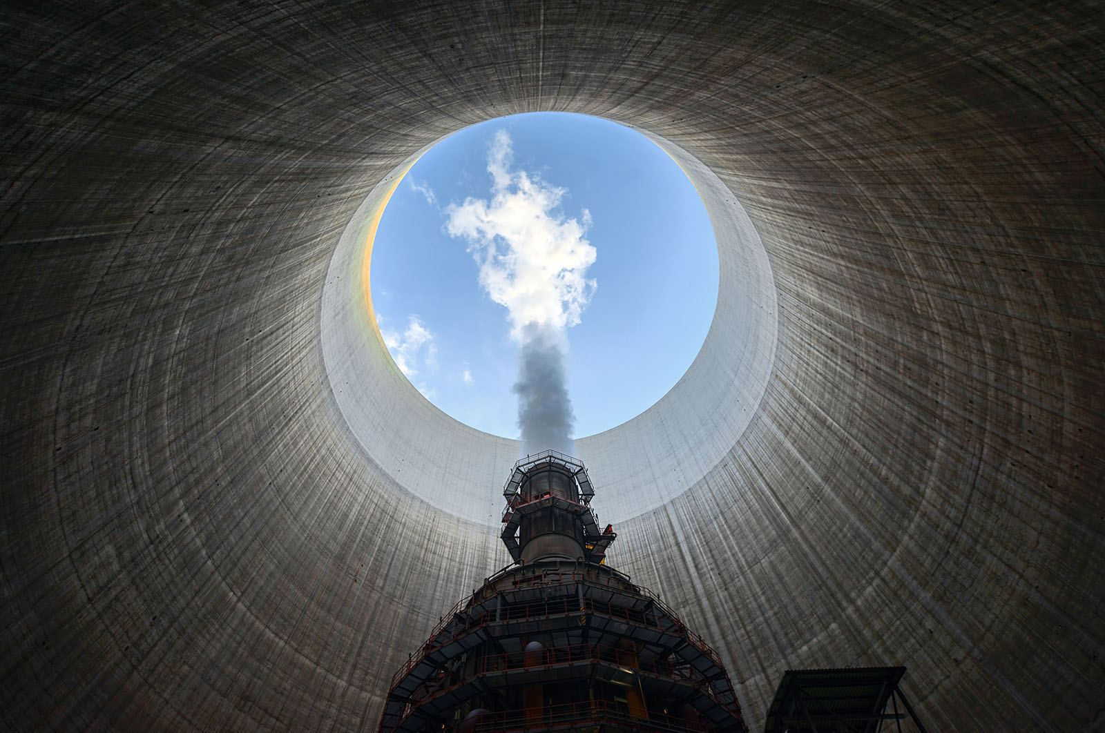 Inspection of a Nuclear Power Plant
